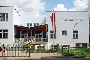 Hermann Czech - Rosa-Jochmann elementary school in Simmering, Vienna