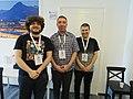 WikiLive 2018 in Serbia, Marko, Đorđe and Filip.jpg