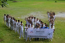 Wikipedia School Program at Agrabad Government Colony High School (Boys' Section) 02.JPG