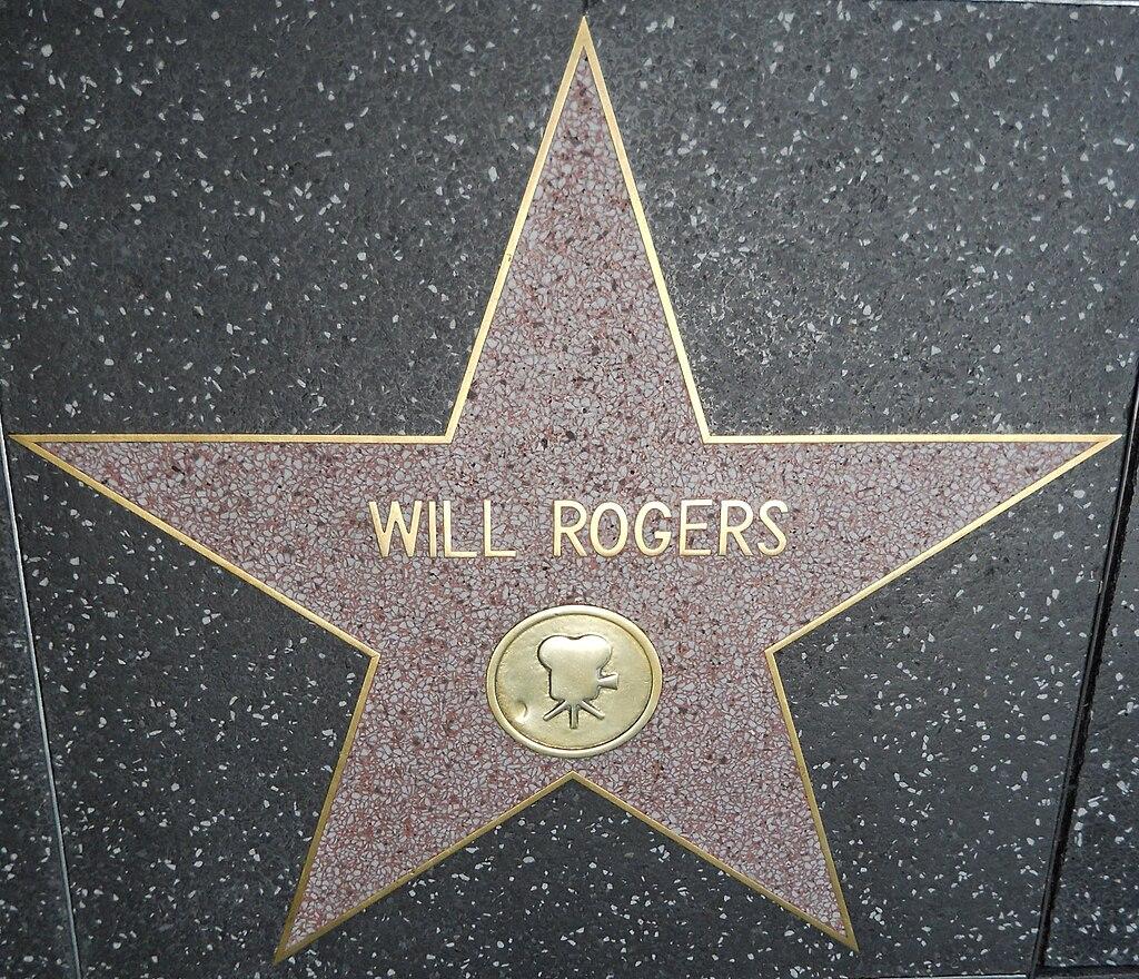 Will Rogers star HWF