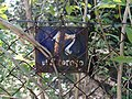 Willa pod nr 17 - ulica Stefana Batorego, Brwinów; tabliczka z numerem.jpg