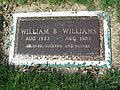 William B. Williams (DJ) Footstone 2010.JPG
