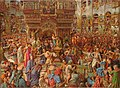 William Holman Hunt - The Miracle of the Sacred Fire, Church of the Holy Sepulchre - 1942.198 - Fogg Museum.jpg