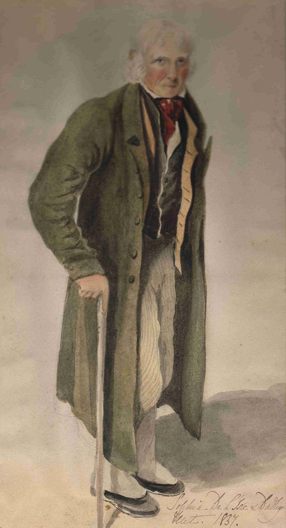 William IV in 1837 by his daughter Sophia