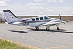 Wings Dubbo Pty Ltd (VH-TYP) Beech 58 Baron at Wagga Wagga Airport.jpg