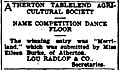 Winning name, Cairns Post, 21 July 1950, page 10.jpg