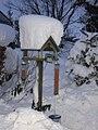 Winter bird table at Burnside Cottage - geograph.org.uk - 1704631.jpg