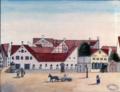 Wolffang Ruhmann Weibels Gård på Christianshavns Torv, 1749.png