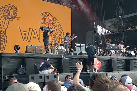 In 2010, Will Rockwell-Scott replaced Dave Atkins. This lineup began work on Wolfmother's third album in 2011. WolfmotherLollapalooza2010.jpg