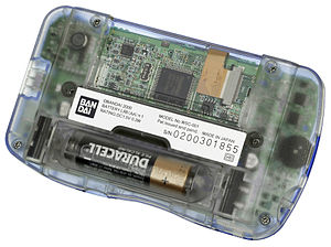 WonderSwan - All WonderSwan models are powered by a single AA battery.