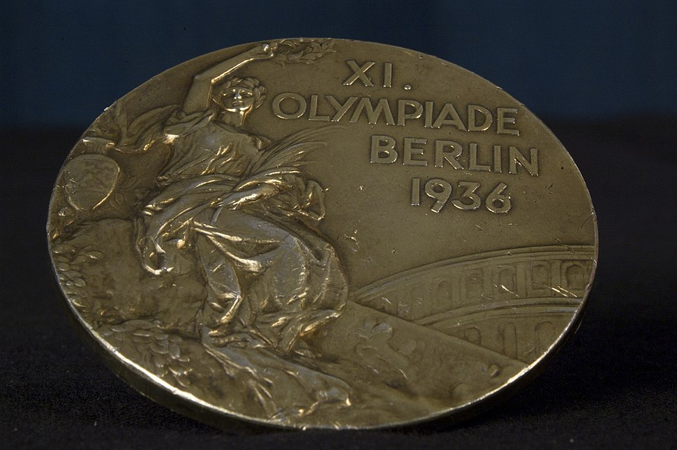 WoodRuff 1936 Olympics medal front