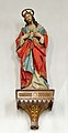 Woodcarved polychromed statue of Jesus in the parish church Feldthurns.jpg