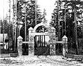 Woodland Park entrance on Fremont Ave, 1889 (SEATTLE 886).jpg