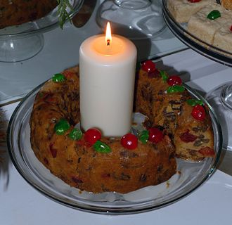 Fruitcake - Traditional American Fruitcake