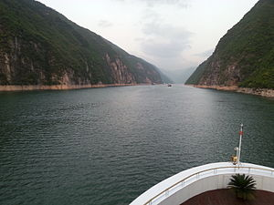 Three Gorges - Wu Gorge on Yangtze