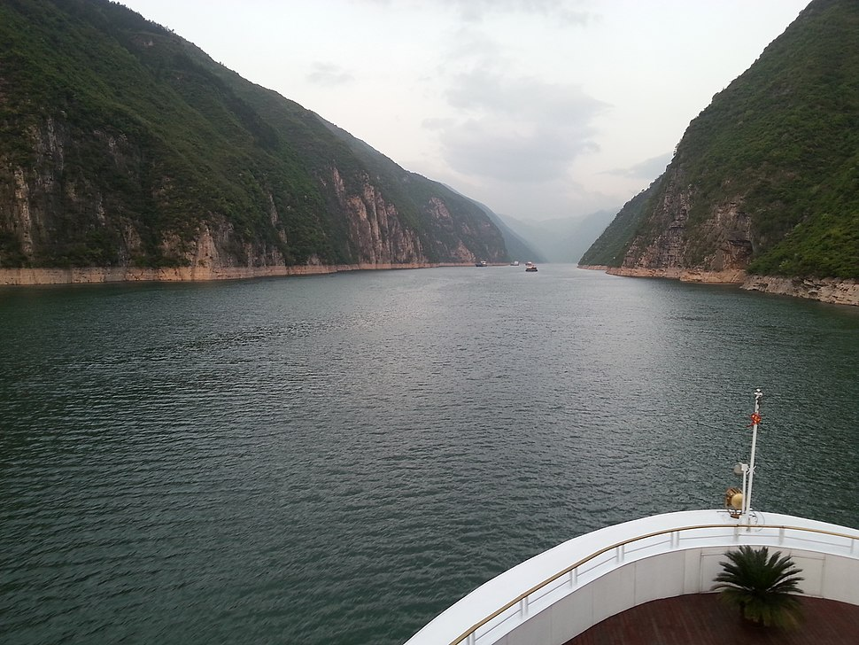Wu Gorge on Yangtze