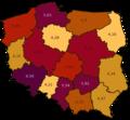 Wybory Samorządowe w Polsce 2010 KW gminy mod.png