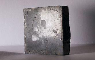 Yttrium barium copper oxide - YBCO superconductor in TTÜ.