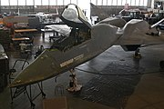 YF-23 in the restoration area of the usaf museum.jpg