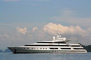 Indian Empress - Cruising in the Andaman Sea near Phuket (Thailand)