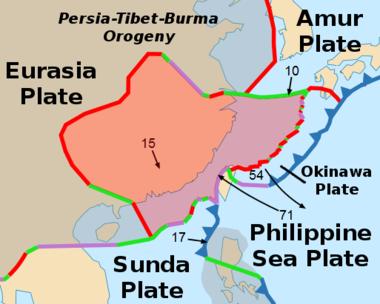 The Yangtze Plate
