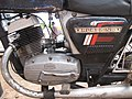 Yezdi Roadking 2 two stroke engine closeup. two-wheeler motor macro photo motorcycle Ideal Jawa. India traditional vintage Desi Indian bike. Image photographed India by Etan Doronne.jpg