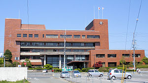 Yonago, Tottori - Yonago City Hall in Kamo area