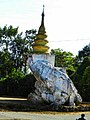 You will see first when you enter kyatpyin, west mogok,ruby land.jpg