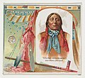 Young Whirlwind, Southern Cheyenne, from the American Indian Chiefs series (N36) for Allen & Ginter Cigarettes MET DP838938.jpg