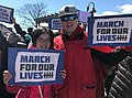 Yuan and David at the March For Our Lives Rally in Ossining (26121235437).jpg