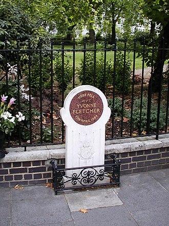 Police Memorial Trust - The memorial to WPC Yvonne Fletcher was the Police Memorial Trust's first