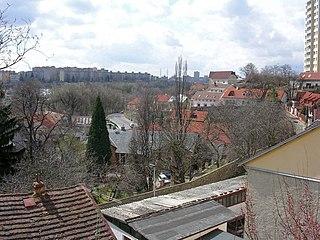 Záběhlice Cadastral district of Prague in Czech Republic