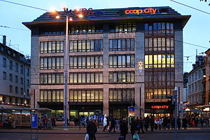 Coop (Switzerland) - Coop city at Bellevue square in Zürich