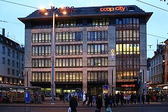Coop (Switzerland) - Coop city at Bellevue square in Zürich