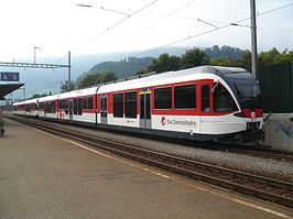 Zentralbahn ABt 941 op 9 september 2006 in Stansstad