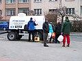 Zahradní Město, Topolová, přívěs s pitnou vodou.jpg