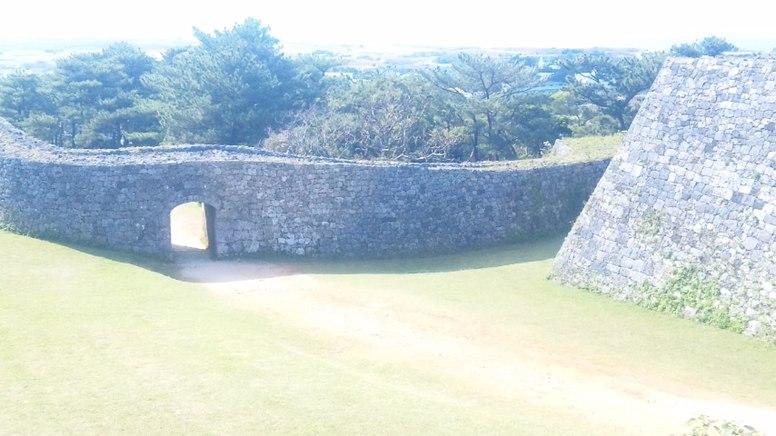 Zakimi castle inside