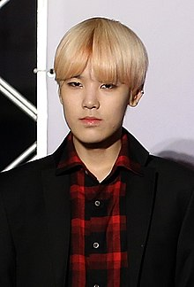 Zelo at Korea KPOP World Festival 2013.jpg