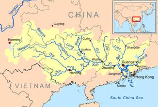 karte china flüsse Perlfluss – Wikipedia