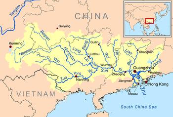 kart av kina Liste over elver i Kina og Mongolia – Wikipedia kart av kina