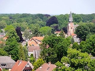 Nunspeet Municipality in Gelderland, Netherlands
