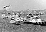 Zlin-226T Trener 6 típusú repülőgépek. Fortepan 9327.jpg