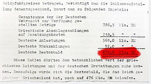 World War II reparations - Excerpt Akte R 27320, page 114 (political archive of the German Federal Foreign Office)