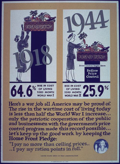 WWII poster about US price controls