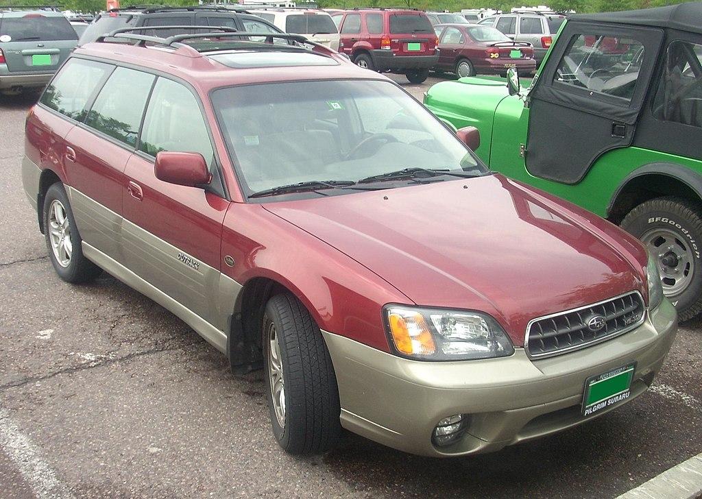 Subaru Outback Wiki >> File:'03-'04 Subaru Outback LL Bean Edition Wagon.JPG - Wikimedia Commons