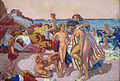 'Bacchus and Ariadne' by Maurice Denis, 1907, Hermitage.JPG