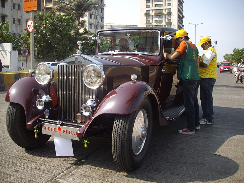 File:'Vintage Rolls-Royce' at Mumbai vintage car rally-2010'.jpg