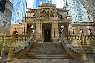 Liverpool Street, Sydney - Image: (1)Police Courts Sydney 1