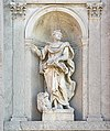 (Venice) Giudecca - Chiesa del Redentore - Statua dell'evangelista Marco - Giusto le Court.jpg