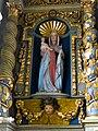 Église Notre-Dame de Tirepied - Statue de la Vierge à l'Enfant.JPG